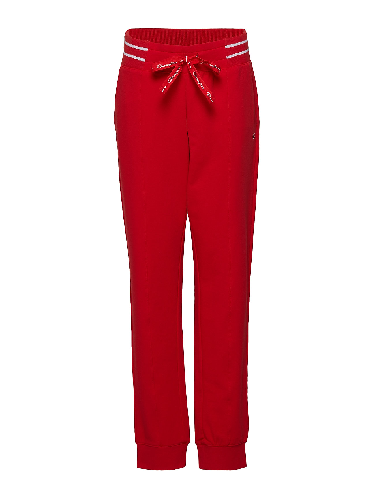 Champion Rib Cuff Pants - FLAME SCARLET