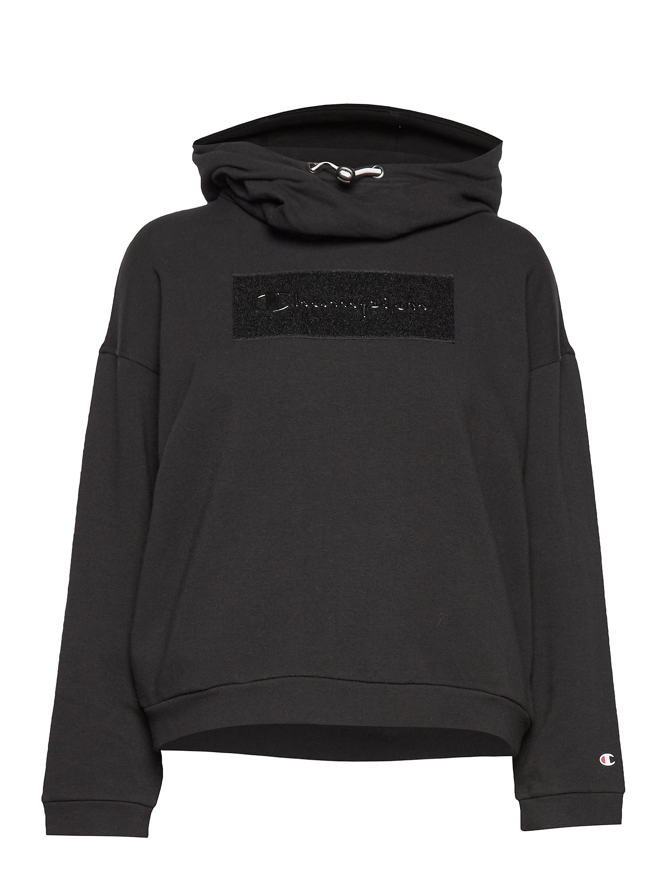 Champion Hooded Sweatshirt - BLACK BEAUTY