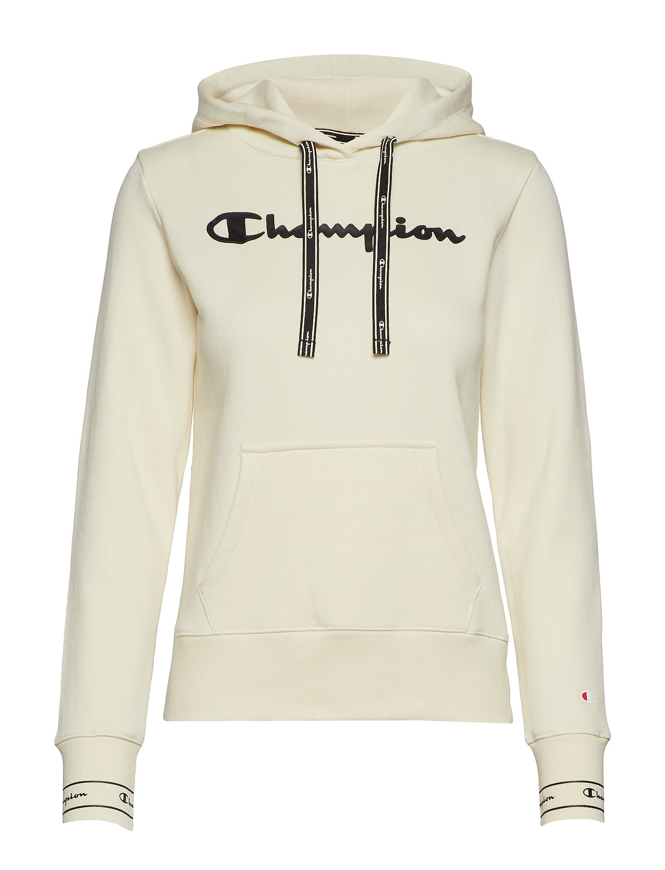 Champion Hooded Sweatshirt - WHITE ASPARAGUS