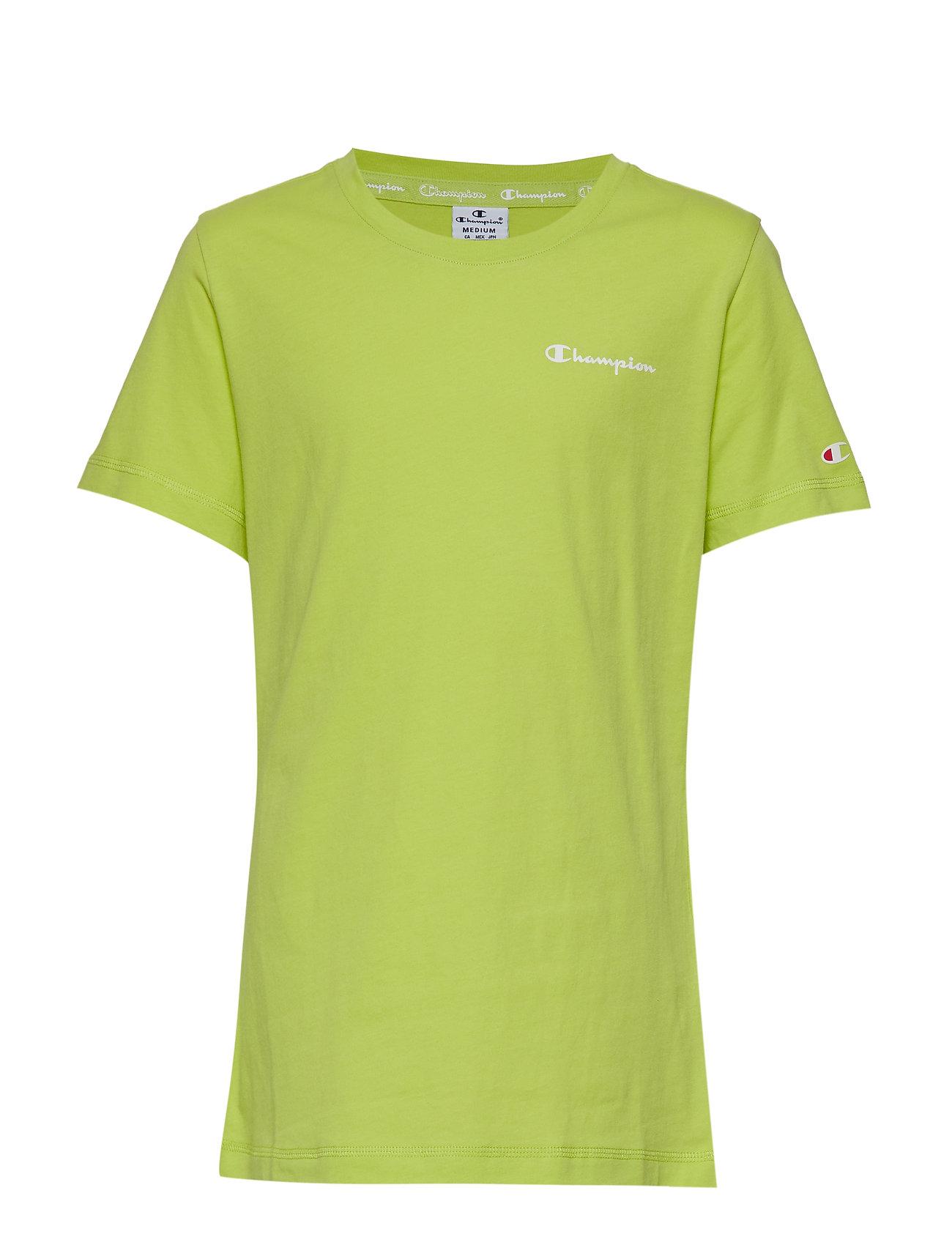 Champion Crewneck T-Shirt - WILD LIME