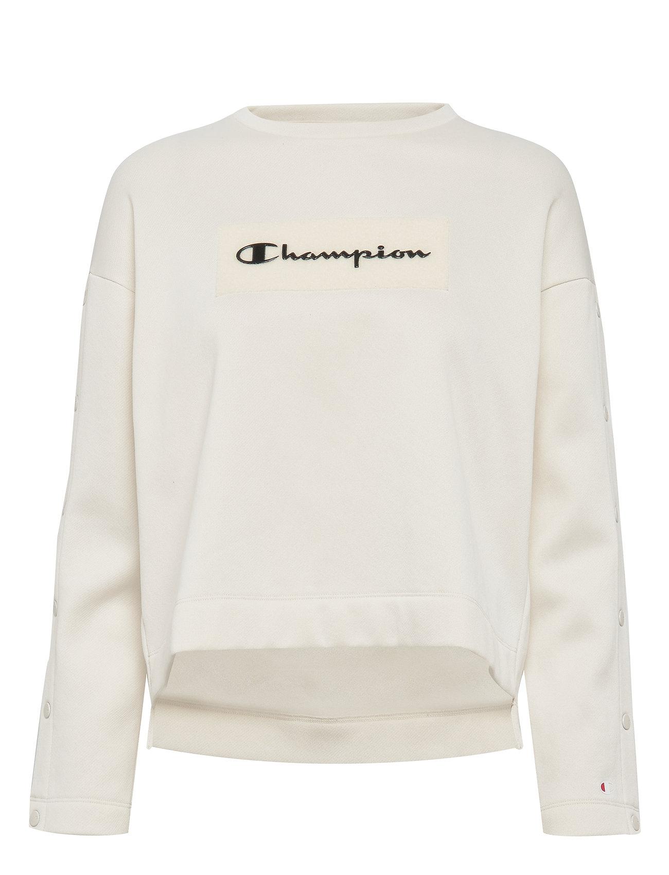 Champion Crewneck Sweatshirt - VAPOROUS GRAY