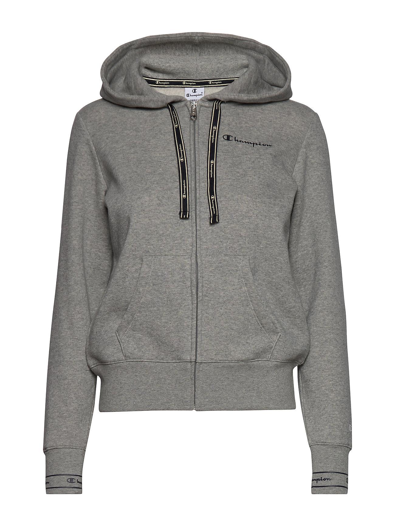 LightChampion Sweatshirtgray Full Zip Hooded Melange LqRj4Sc35A