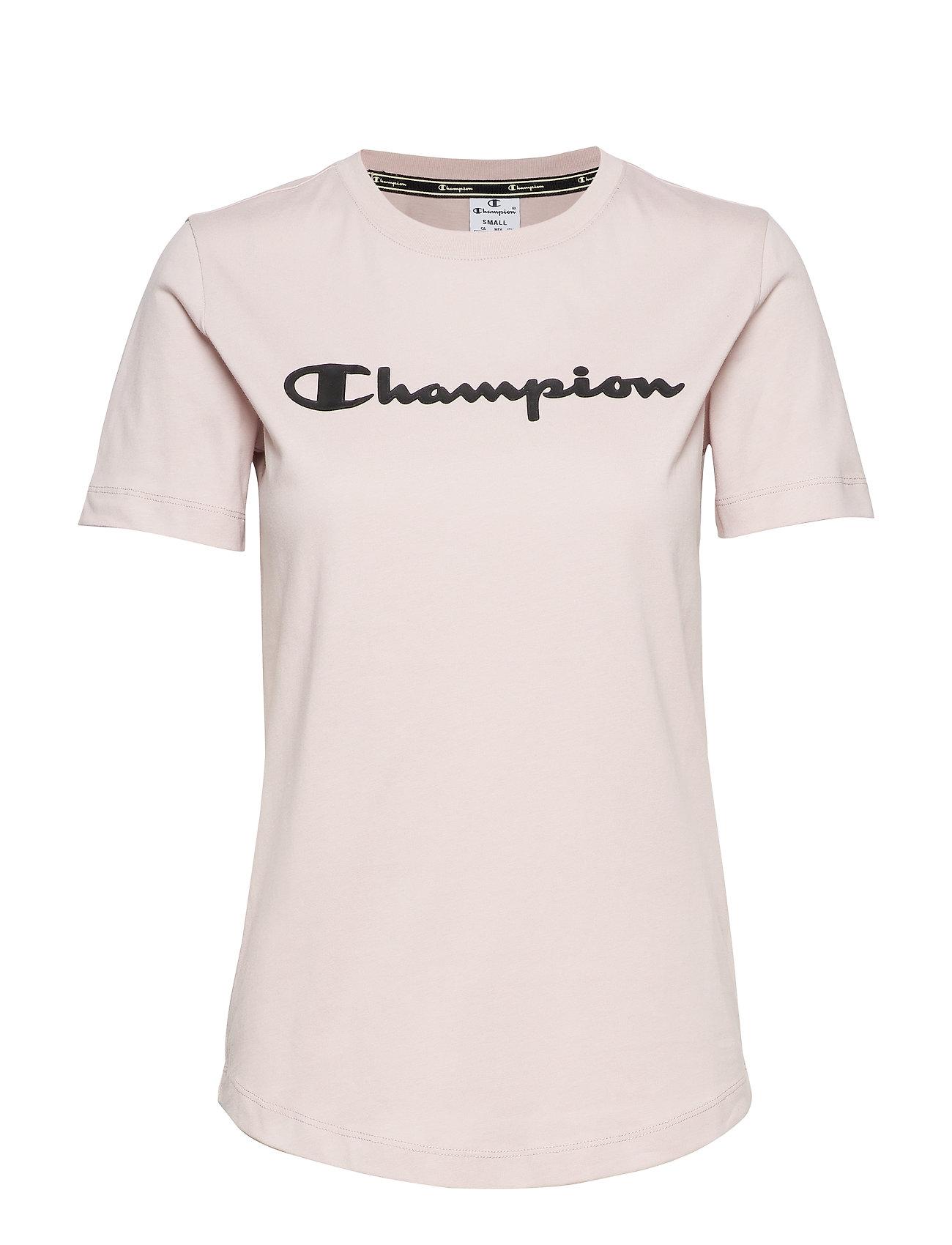 Champion Crewneck T-Shirt - VIOLET ICE