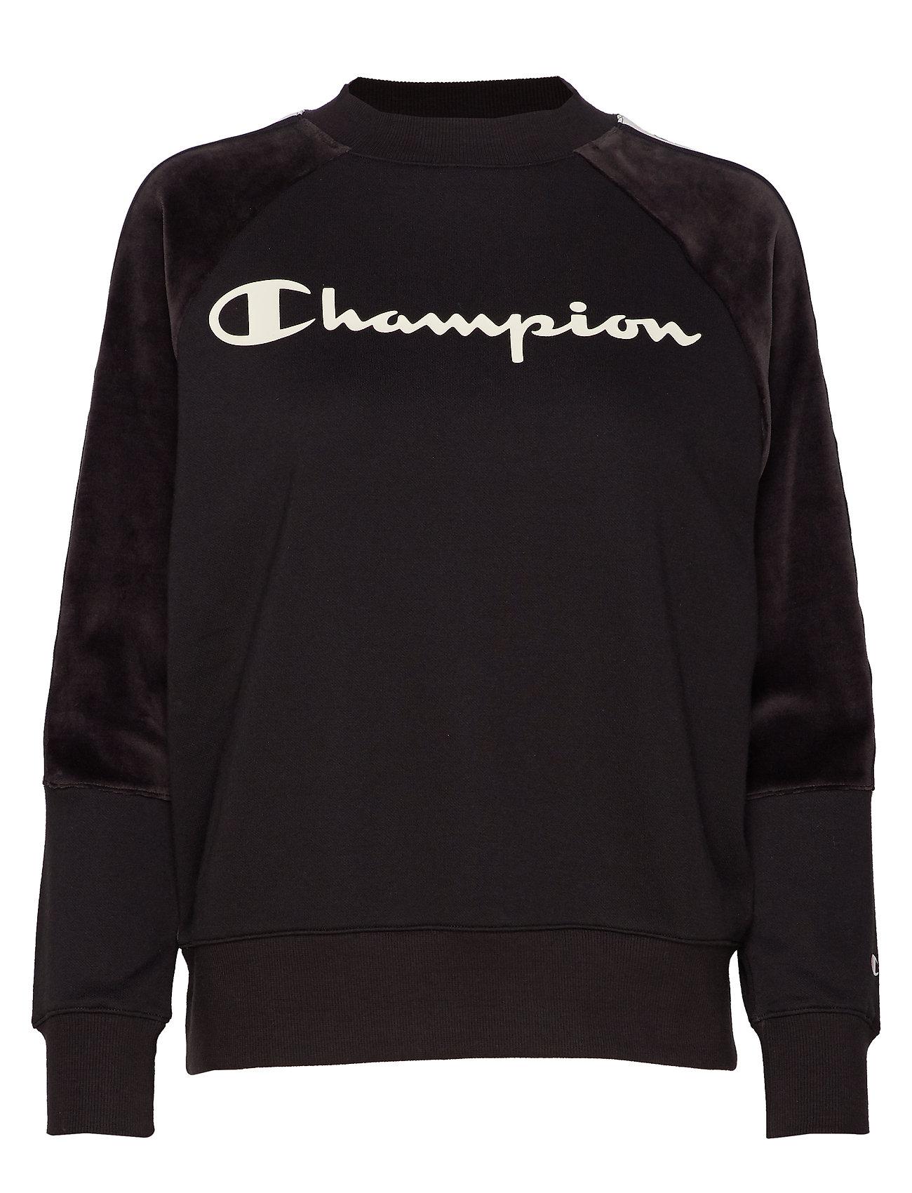 Champion Crewneck Sweatshirt - BLACK BEAUTY