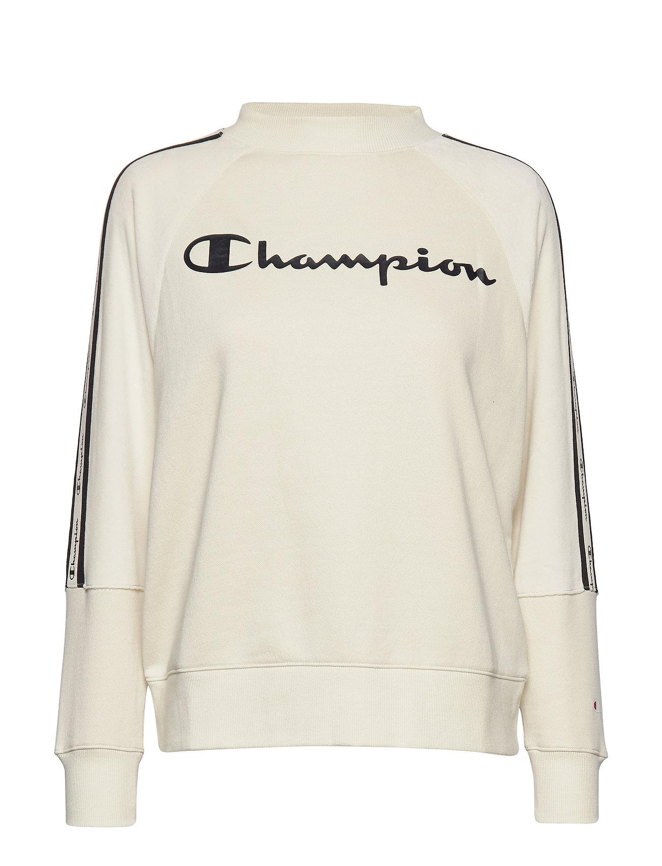 Champion Crewneck Sweatshirt - WHITE ASPARAGUS