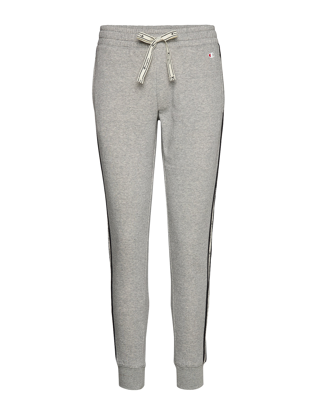 Champion Rib Cuff Pants - GRAY MELANGE LIGHT