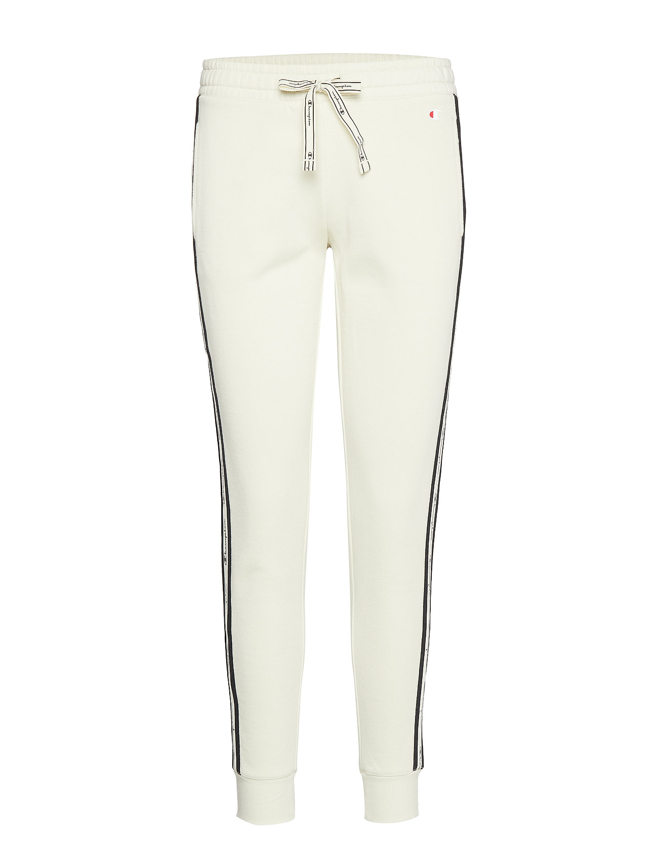 Champion Rib Cuff Pants - WHITE ASPARAGUS