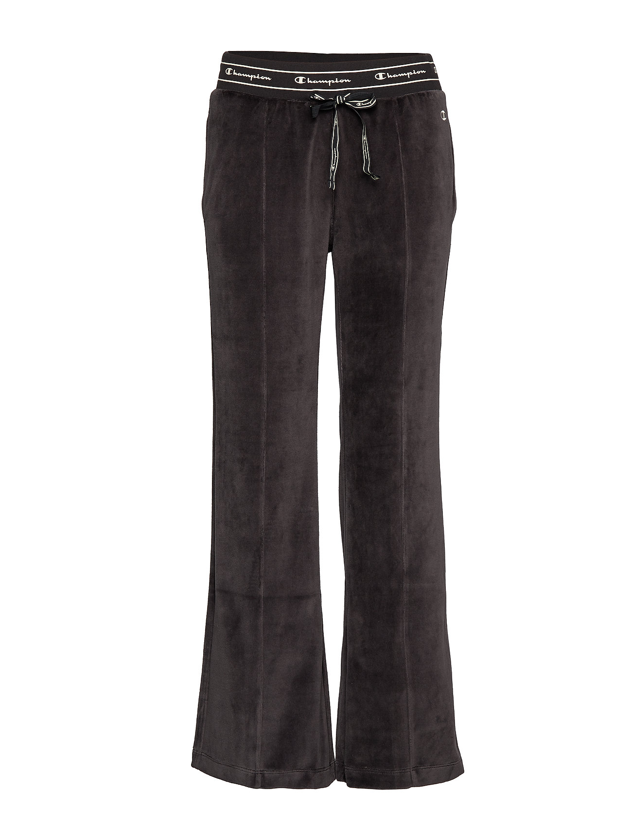 Champion Straight Hem Pants - BLACK BEAUTY