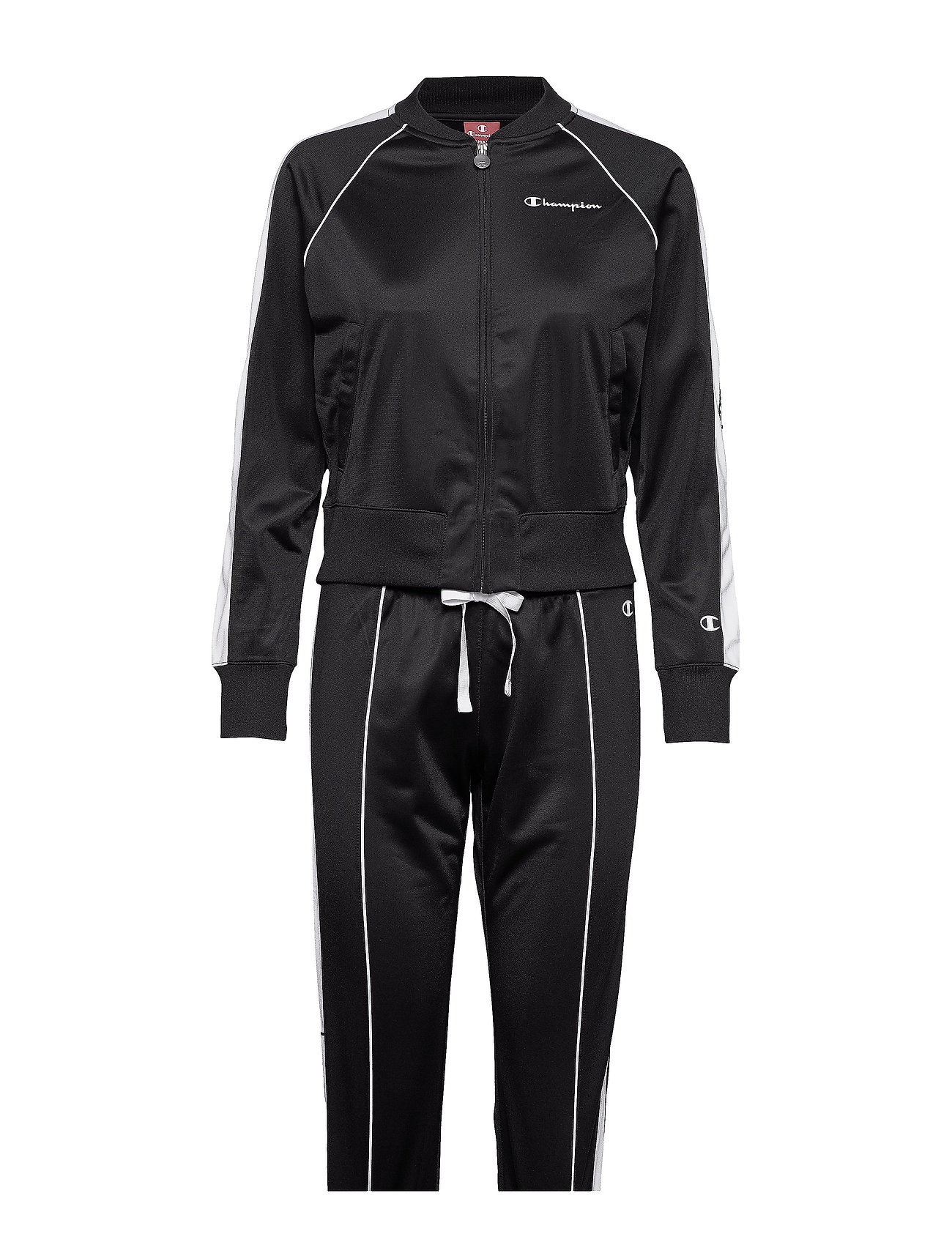 Champion Full Zip Suit - BLACK BEAUTY