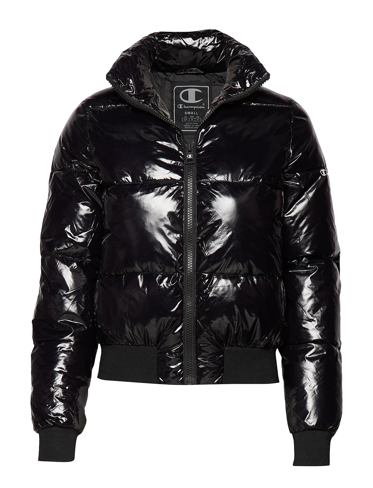Champion Bomber Jacket - BLACK BEAUTY