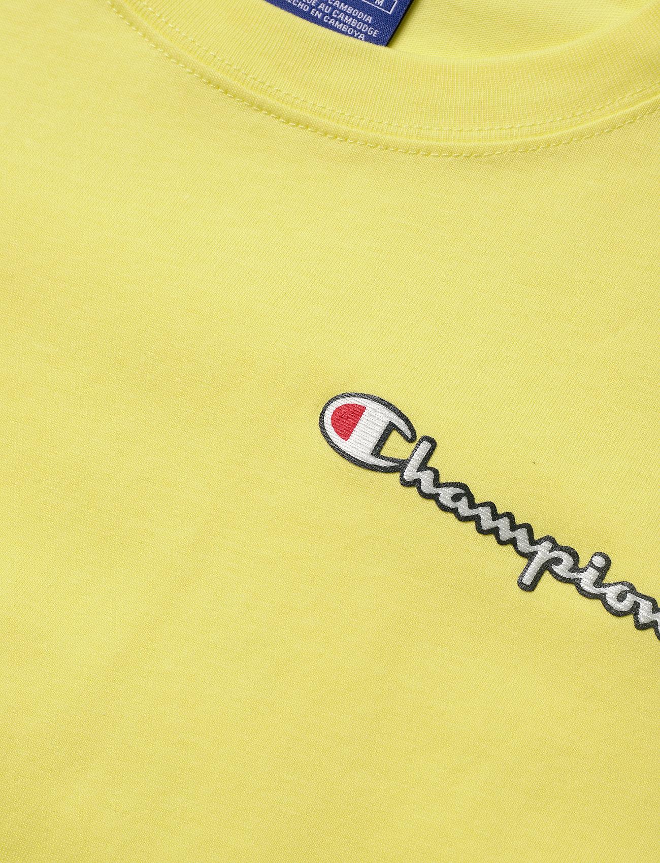 Champion Crewneck T-Shirt - T-shirty i zopy LIMELIGHT - Kobiety Odzież.