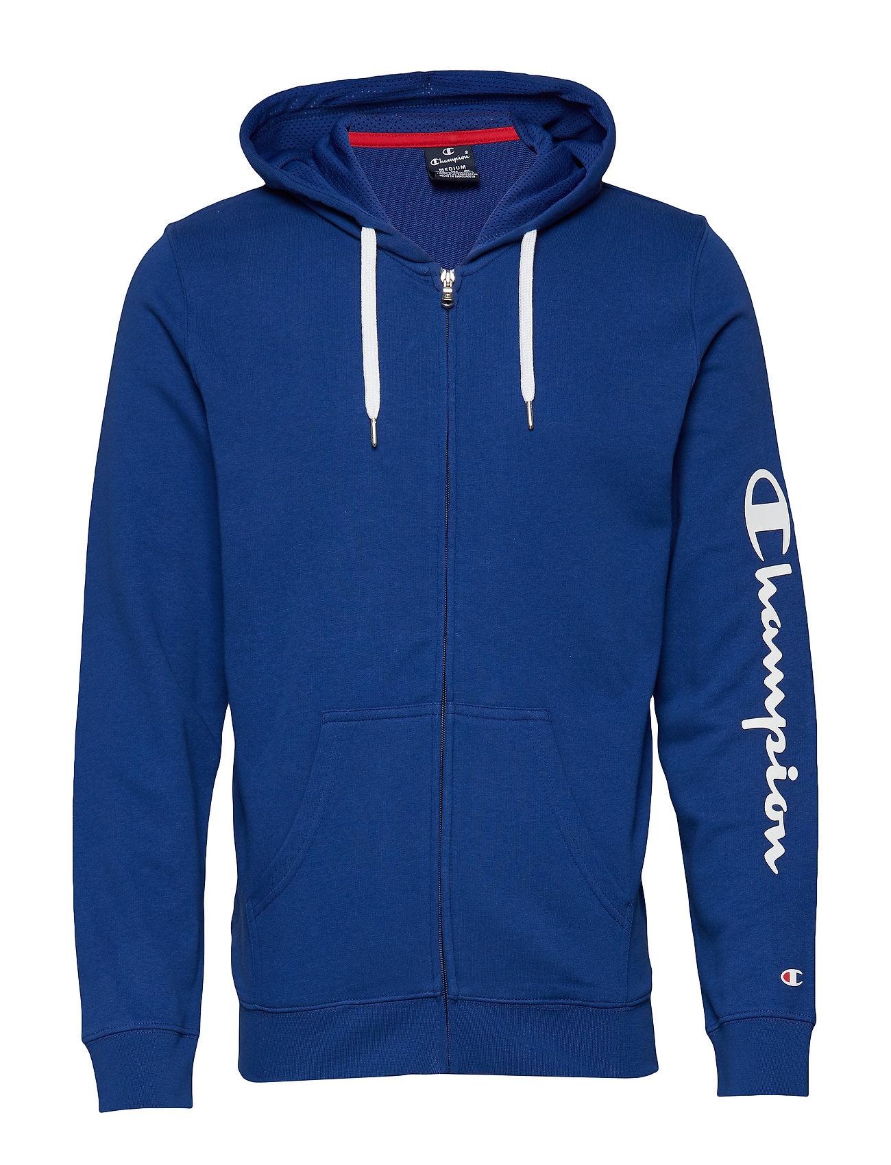 Champion Hooded Full Zip Sweatshirt - SODALITE BLUE