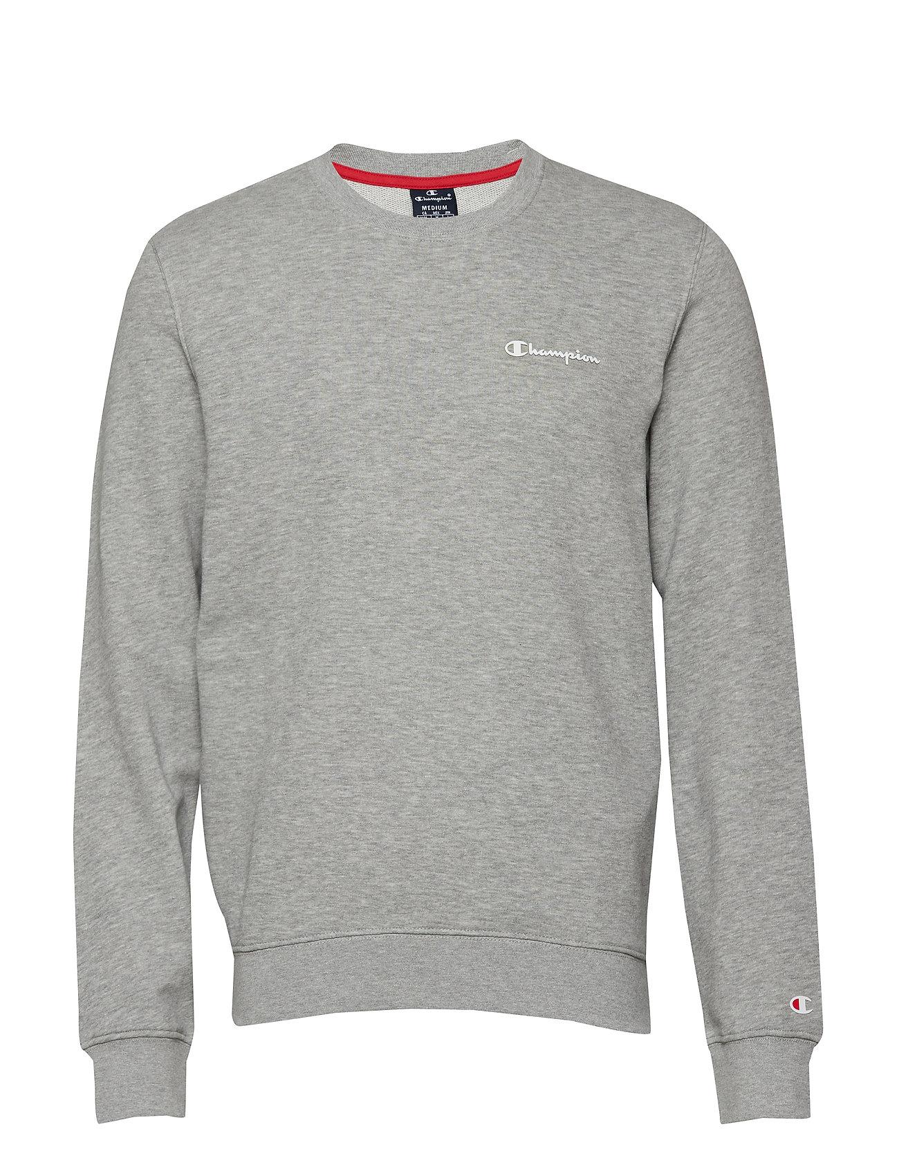 Champion Crewneck Sweatshirt - GRAY MELANGE LIGHT