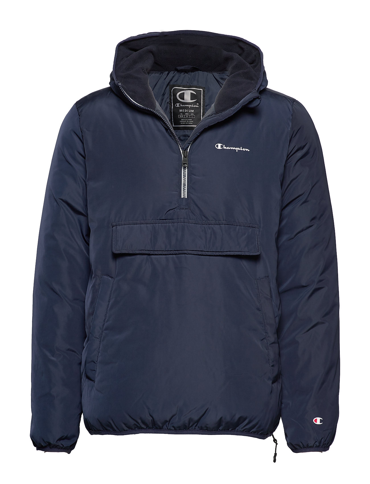 CHAMPION Hooded Jacket Outerwear Jackets Anoraks Blau CHAMPION