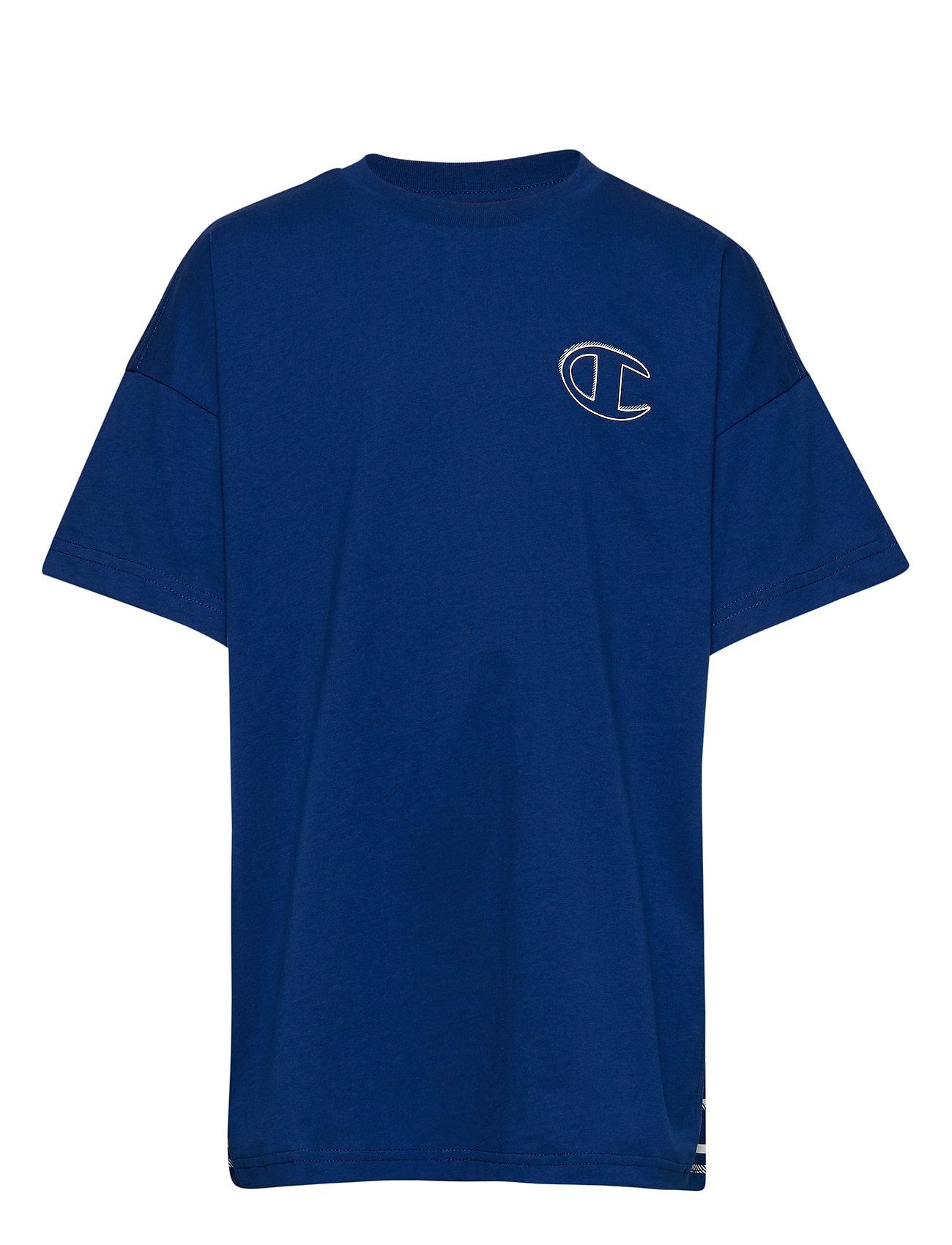 Champion Crewneck T-Shirt - SODALITE BLUE