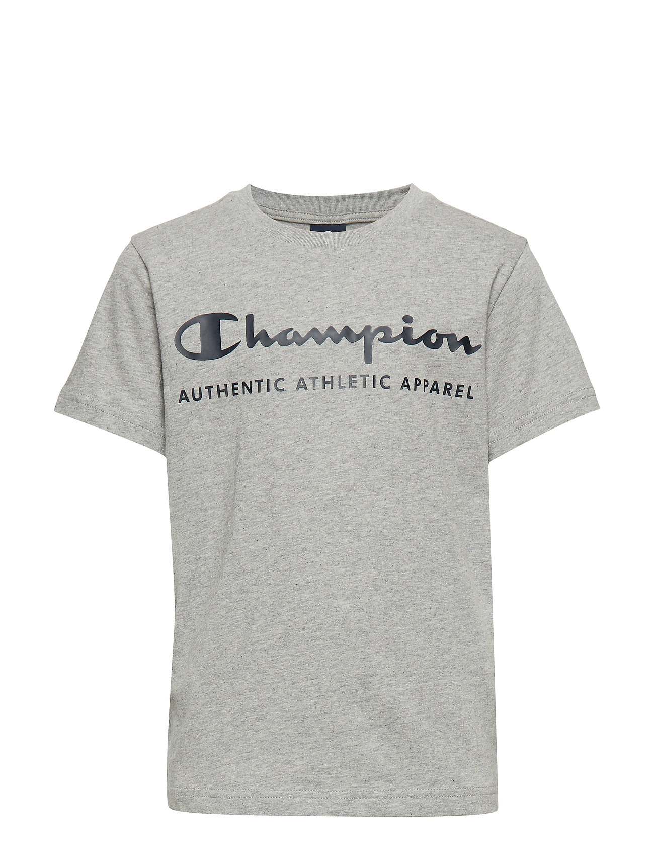 Champion Crewneck T-Shirt - GRAY MELANGE LIGHT