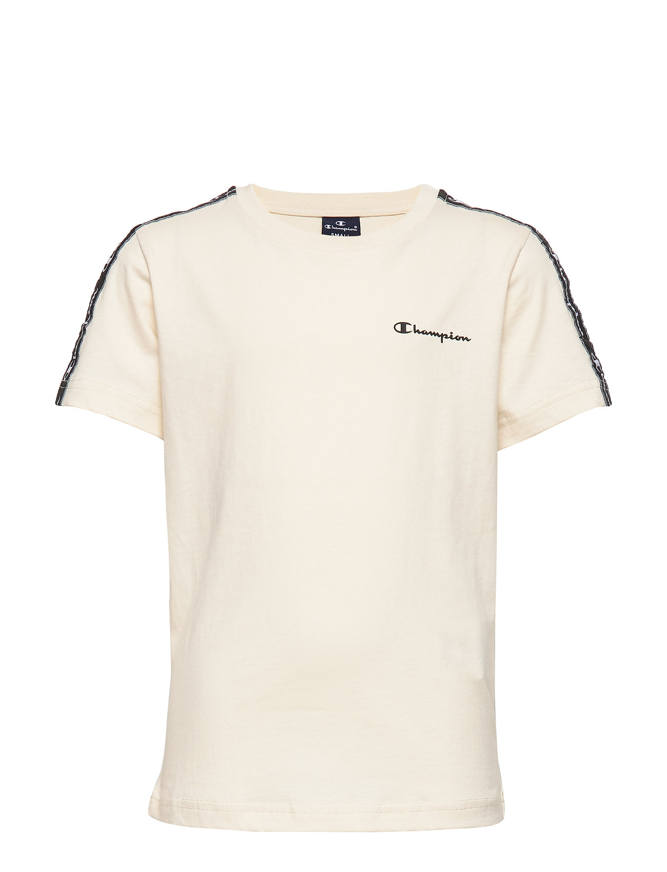 Champion Crewneck T-Shirt - WHITE ASPARAGUS
