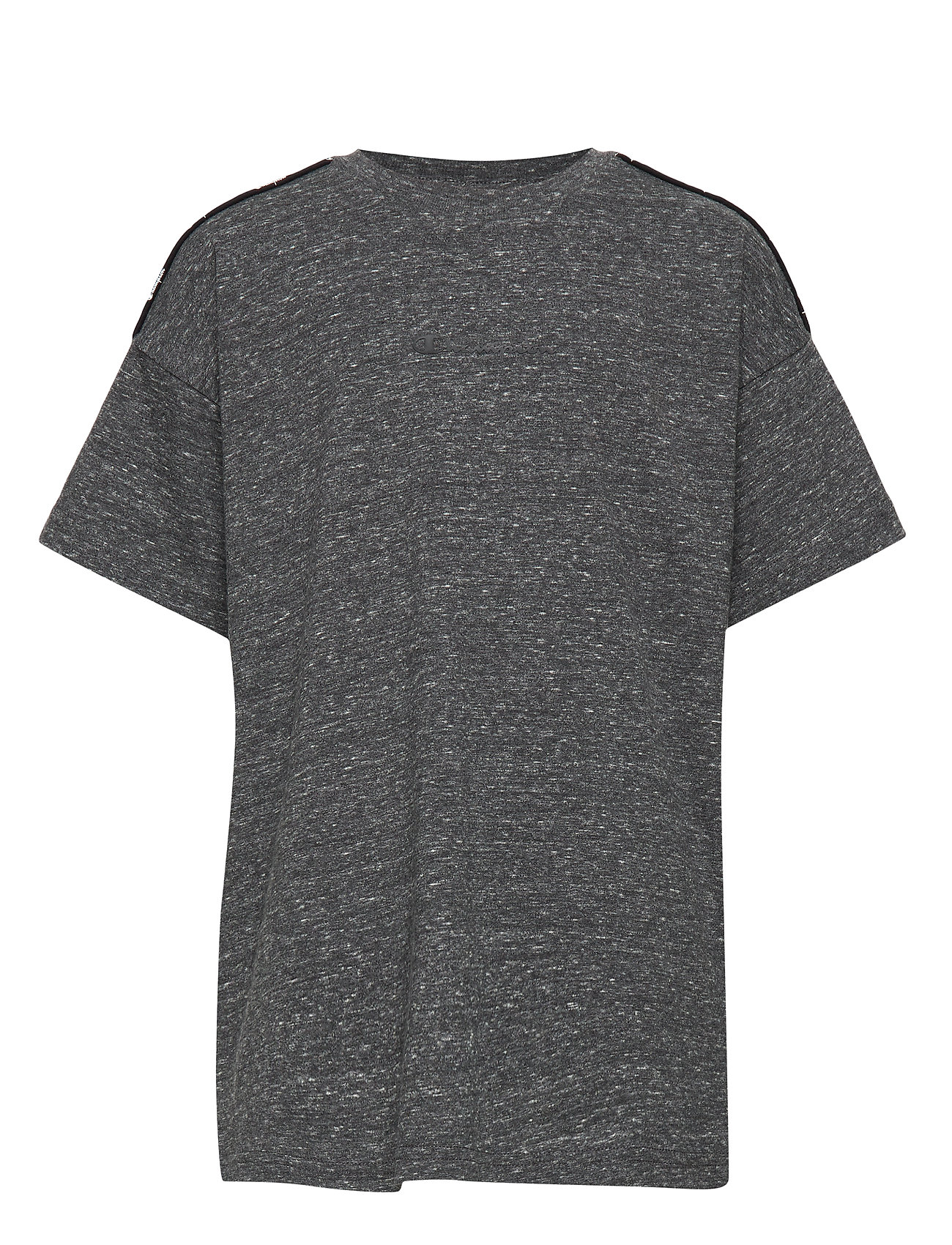 Champion Crewneck T-Shirt - NEW CHARCOAL GREY MELANGE DARK