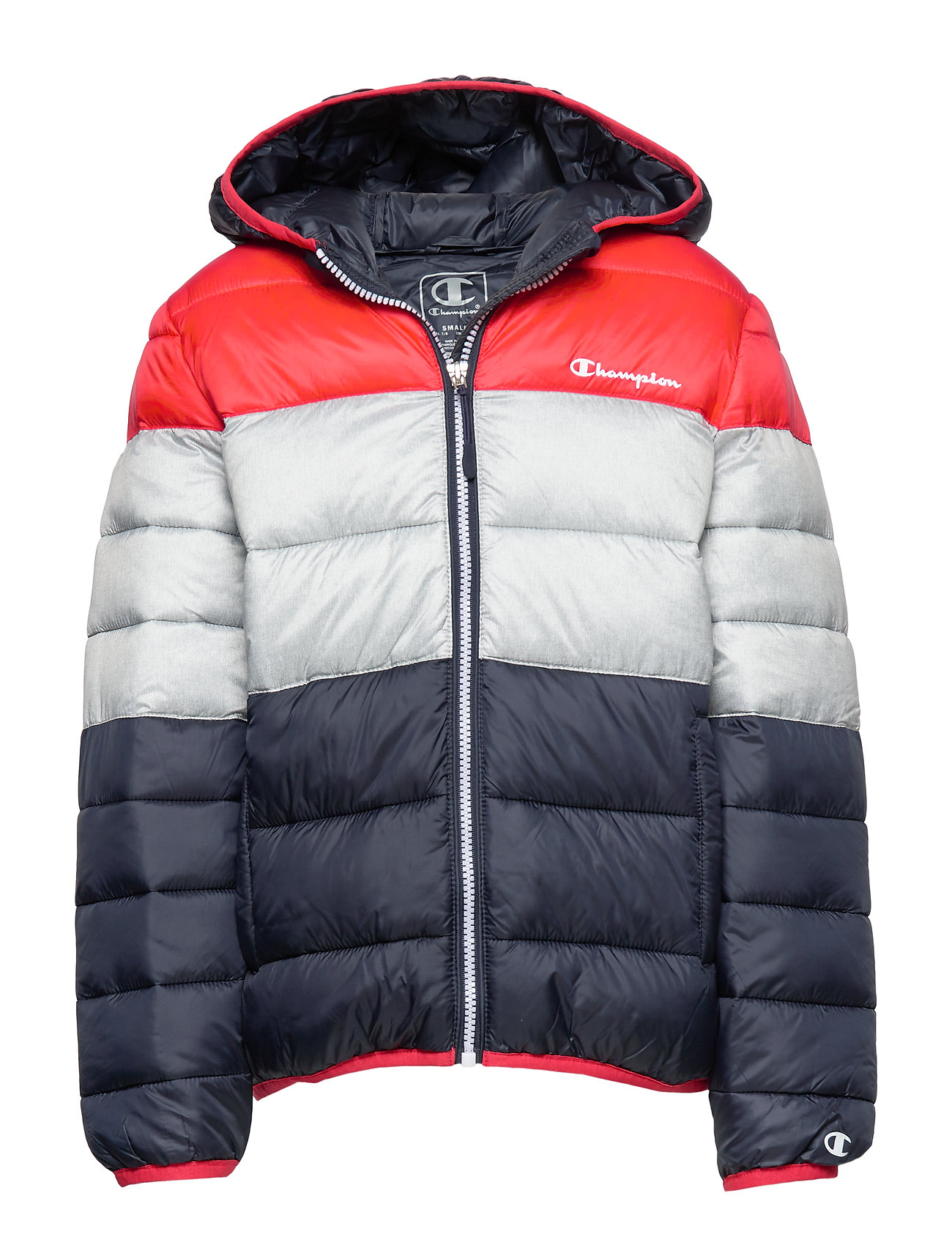 Champion Hooded Jacket - FLAME SCARLET