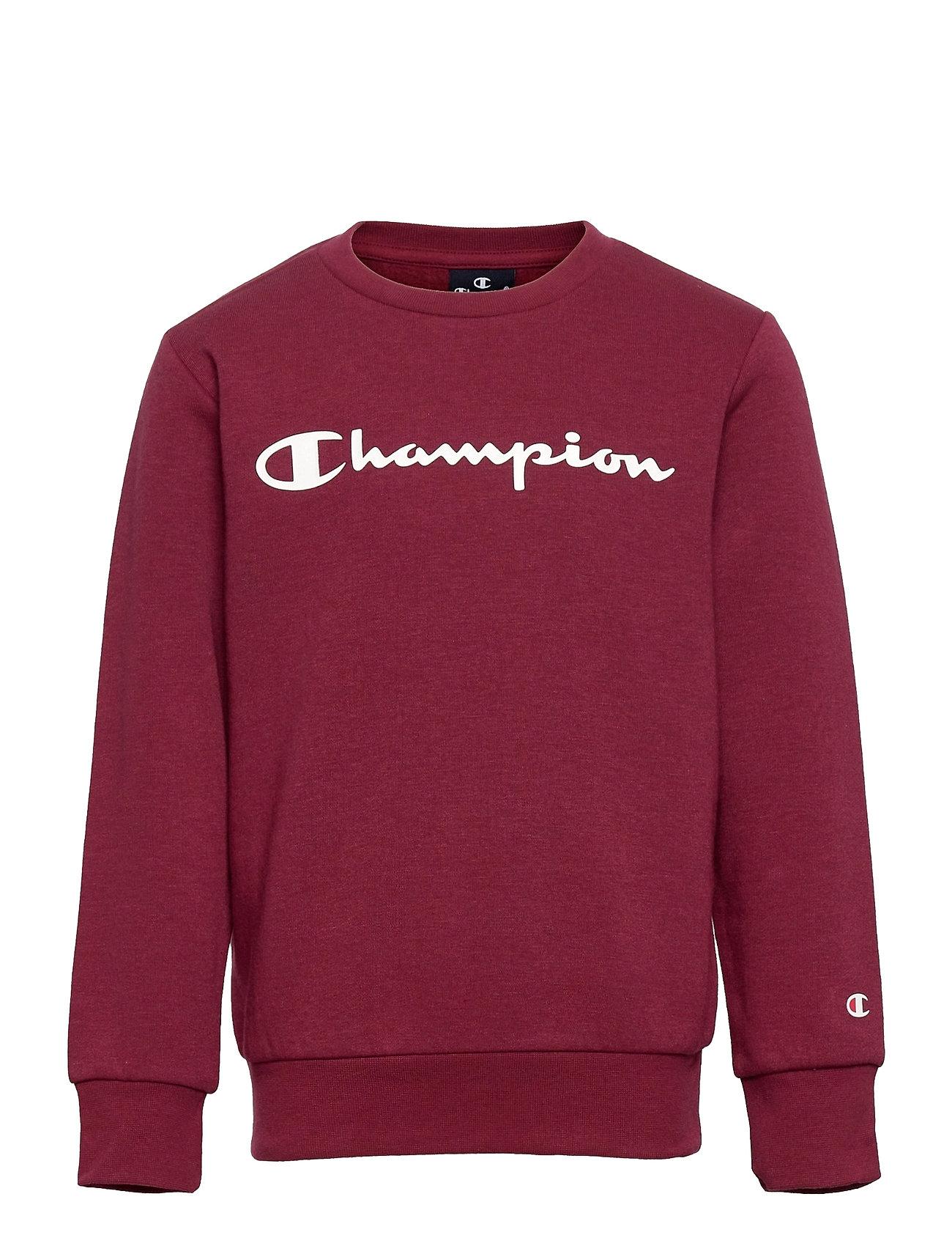 Crewneck Sweatshirt Sweatshirt Trøje Rød Champion