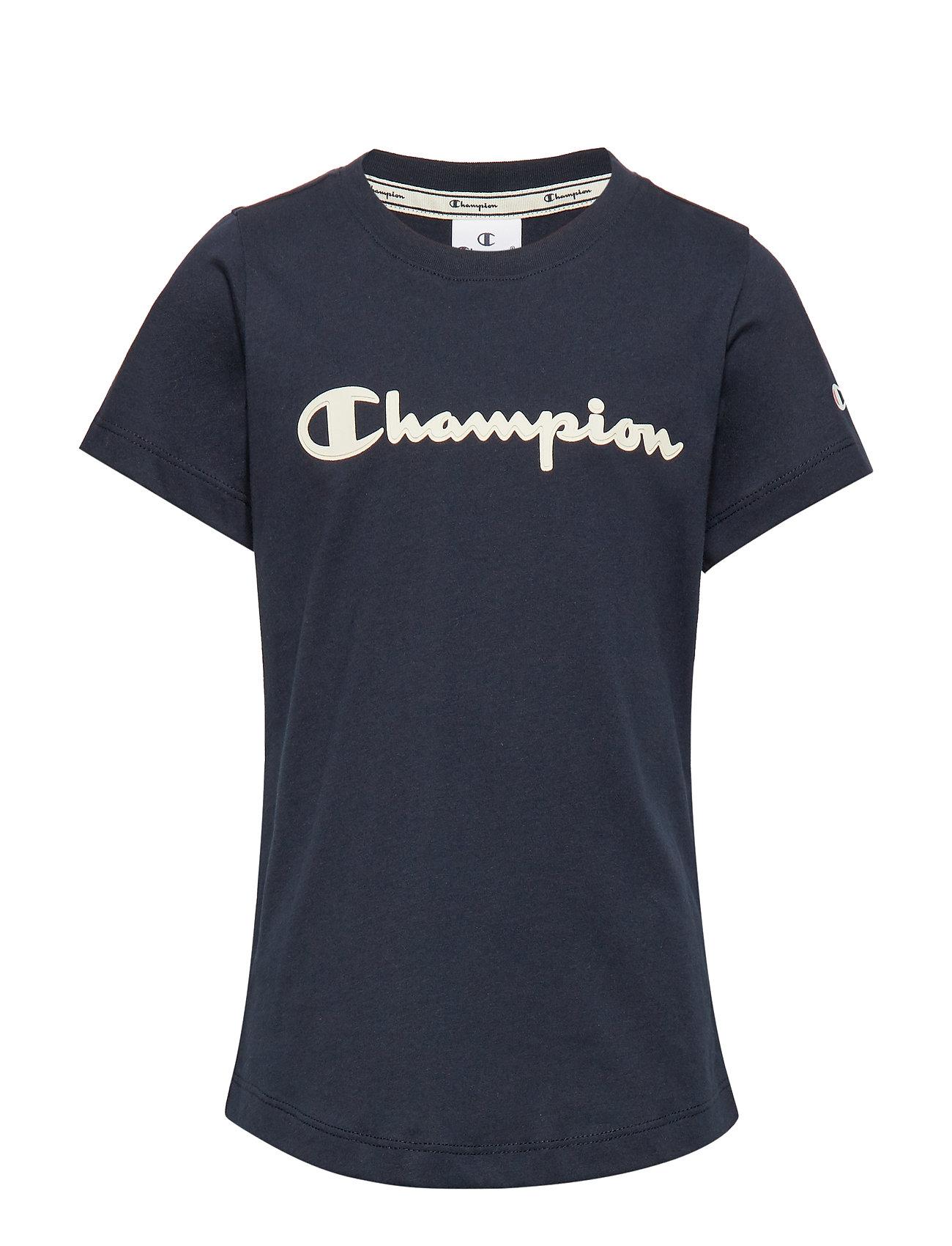Champion Crewneck T-Shirt - SKY CAPTAIN