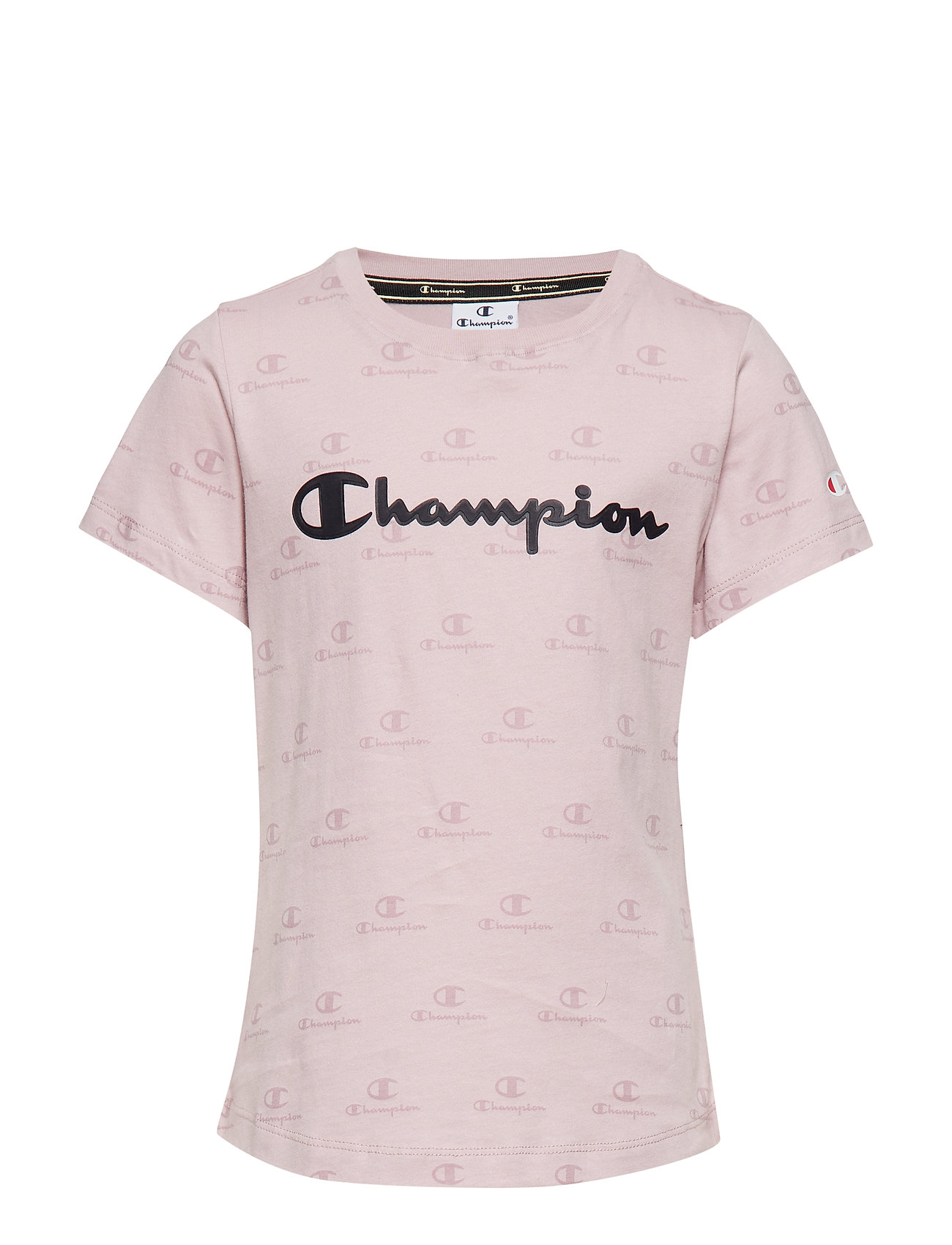 Champion Crewneck T-Shirt - VIOLET ICE AL (VIT) A