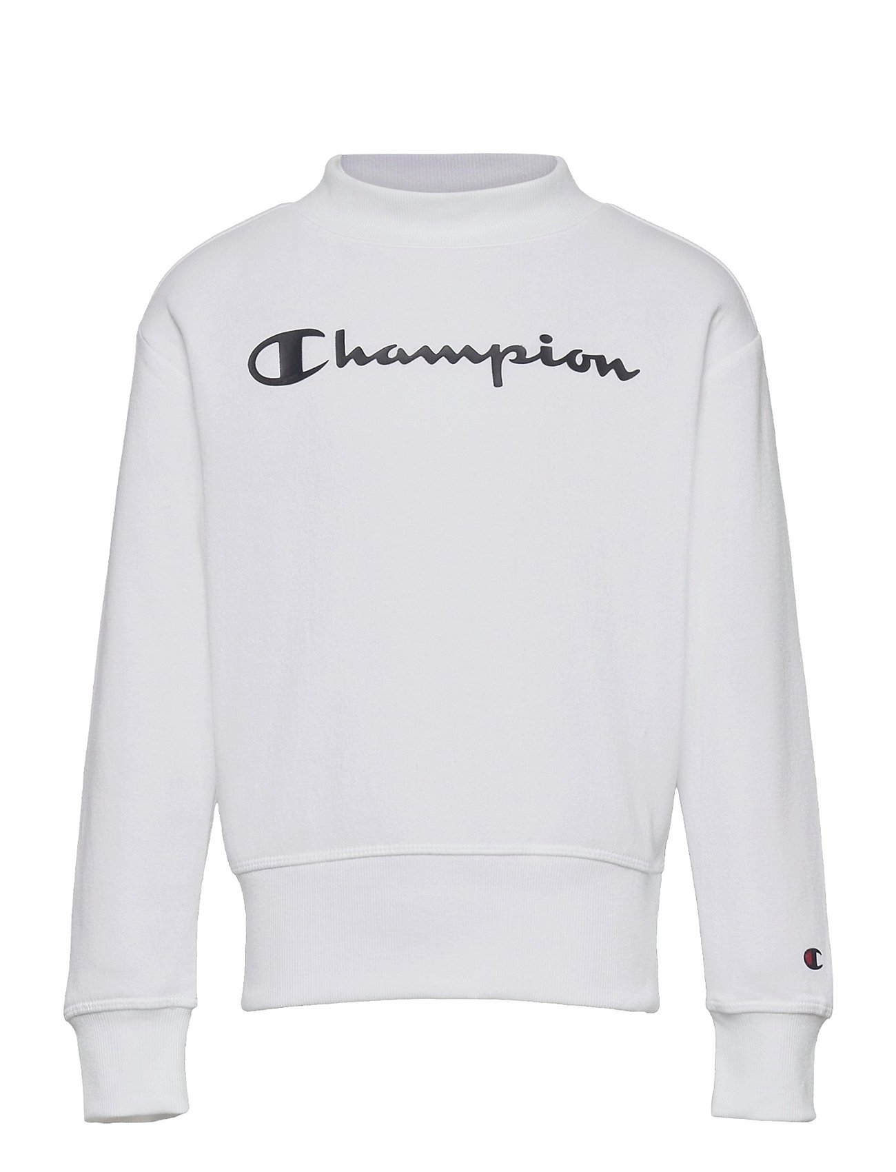 Crewneck Sweatshirt Sweatshirt Trøje Hvid Champion
