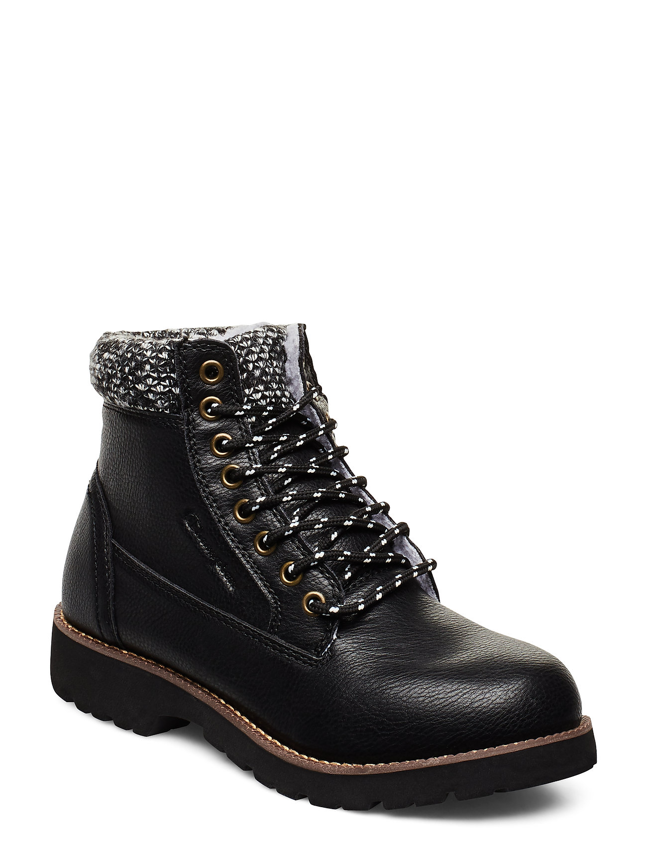 Image of High Cut Shoe Upstate Shoes Boots Ankle Boots Ankle Boots Flat Heel Sort Champion (3374003579)