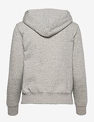 Champion - Hooded Sweatshirt - hættetrøjer - oxford grey melange yarn dyed - 1