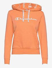 Hooded Sweatshirt - CANTALOPE