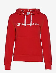 Hooded Sweatshirt - HIGH RISK RED