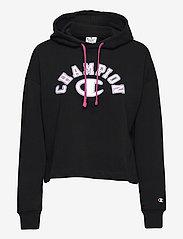 Champion - Hooded Sweatshirt - hættetrøjer - black beauty - 0