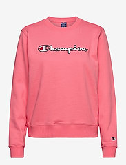 Champion - Crewneck Sweatshirt - svetarit - strawberry pink - 0