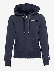 Champion - Hooded Full Zip Sweatshirt - hupparit - sky captain - 0