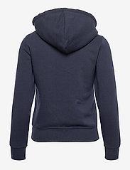 Champion - Hooded Full Zip Sweatshirt - hupparit - sky captain - 1