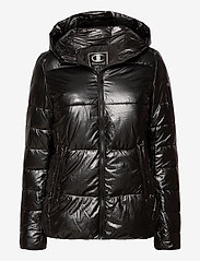 Champion - Hooded Polyfilled Jacket - trainingsjacken - black beauty - 0