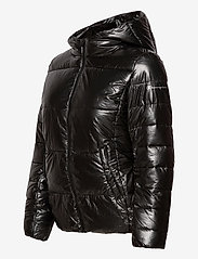 Champion - Hooded Polyfilled Jacket - trainingsjacken - black beauty - 3