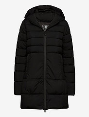 Champion - Hooded Polyfilled Jacket - parkas - black beauty - 0