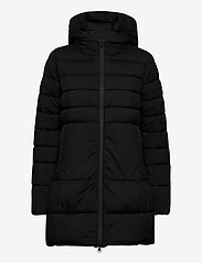 Champion - Hooded Polyfilled Jacket - parkas - black beauty - 1