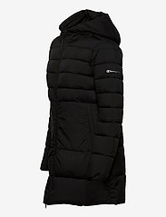 Champion - Hooded Polyfilled Jacket - parkas - black beauty - 3