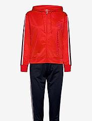 Champion - Hooded Full Zip Suit - verryttelypuvut - flame scarlet - 0