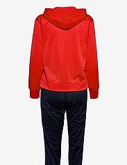 Champion - Hooded Full Zip Suit - verryttelypuvut - flame scarlet - 1