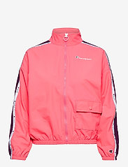 Champion - Full Zip Sweatshirt - svetarit - strawberry pink - 1