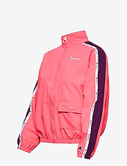 Champion - Full Zip Sweatshirt - svetarit - strawberry pink - 3