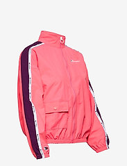 Champion - Full Zip Sweatshirt - svetarit - strawberry pink - 4