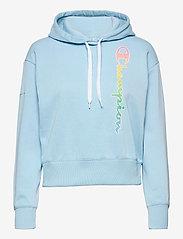 Hooded Sweatshirt - SKY BLUE
