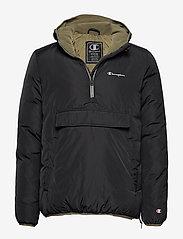 Champion - Hooded Jacket - anoraki - black beauty - 0