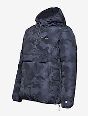 Champion - Hooded Jacket - anoraki - black iris al (bli) - 6