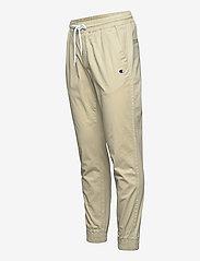 Champion - Elastic Cuff Pants - treenihousut - white pepper - 2