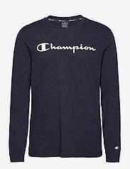 Champion - Crewneck Long Sleeve T-Shirt - langarmshirts - sky captain - 0